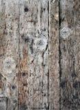 Textura de placas de madeira idosas Fotografia de Stock
