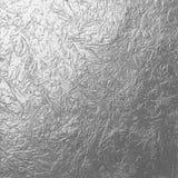 Textura de prata natural do metal Fotografia de Stock