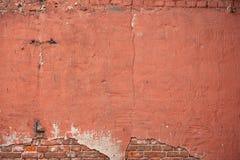 Textura de quebras gastos da pintura e do emplastro Fotografia de Stock Royalty Free