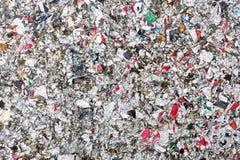 A textura de recicla o fundo do sumário do projeto da caixa do leite Fotos de Stock