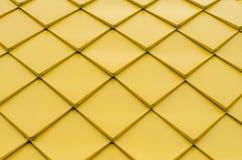 Textura de rombos amarelos imagens de stock royalty free