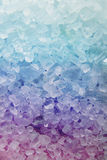 Textura de sal de banho fotografia de stock