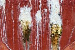 Textura de secagem da marca da água suja Imagem de Stock Royalty Free