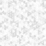 Textura de semitono blanco y negro retra de Dots Mess Concept Background Pattern del cuadrado libre illustration