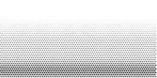 Textura de semitono del granero de puntos blancos y negros ilustración del vector