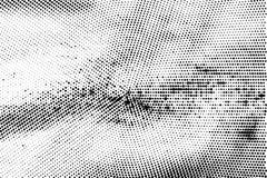 Textura de semitono monocromática del grunge del extracto del fondo libre illustration