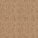 Textura de serapilheira Tela de Brown Teste padrão sem emenda do fundo da lona Contexto de linho do saco de pano ilustração stock
