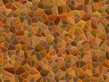 Textura de Stonewall - pedras marrons fotografia de stock