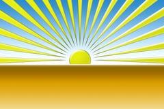 Textura de Sun ilustração royalty free