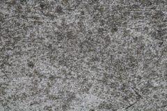 Textura de superfície da parede cinzenta do Grunge em condições envelhecidas foto de stock royalty free