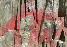 Textura de superfície da rocha do fundo 0010 Imagem de Stock