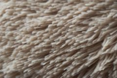 Textura de Tan Hair Fabric Teddy Bear fotografia de stock royalty free