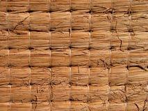 Textura de Tatami Imagenes de archivo