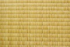Textura de Tatami Fotografía de archivo libre de regalías