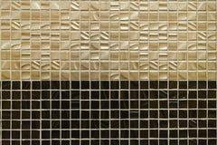 Textura de telhas da parede Foto de Stock
