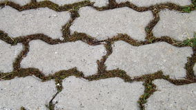 Textura de telhas de assoalho cinzentas Imagens de Stock Royalty Free