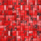 Textura de telhas vermelhas ilustração do vetor