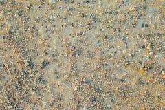 Textura de tierra de la arena foto de archivo