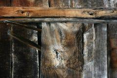Textura de tiras de madeira velhas Imagem de Stock