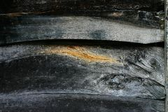 Textura de tiras de madeira velhas Fotos de Stock Royalty Free
