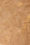 Textura de toalha do algodão de Brown Fotos de Stock Royalty Free