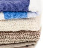 Textura de toalhas Imagem de Stock