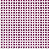 Textura de um branco sem emenda do rattan em um fundo vermelho ilustração stock