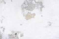 A textura de um muro de cimento que desmorone e se rache Textura do muro de cimento velho Base para o projeto fotos de stock