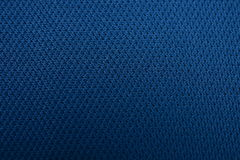 A textura de um pano de algodão azul cinzento profundo Fotos de Stock