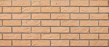 Textura de uma alvenaria decorativa do tijolo Para o projeto e a faculdade criadora Fotografia de Stock