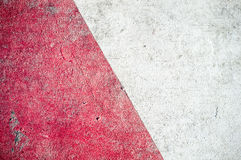Textura de uma grande parede exterior riscada em uma rua Imagem de Stock Royalty Free