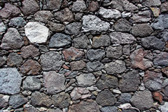 Textura de uma parede de pedra Fotografia de Stock Royalty Free