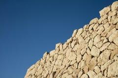 Textura de uma parede de pedra Foto de Stock
