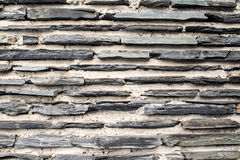 Textura de uma parede de pedra exterior Imagens de Stock Royalty Free