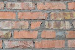 Textura de uma parede de tijolo Foto de Stock