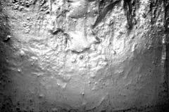 Textura de uma parede pintada em uma casa velha Imagens de Stock
