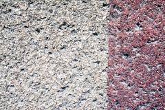 Textura de uma parede velha da casa, da parte externa Imagens de Stock Royalty Free