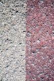 Textura de uma parede velha da casa, da parte externa Imagem de Stock