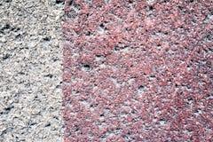 Textura de uma parede velha da casa, da parte externa Imagens de Stock