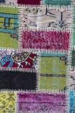Textura de uma parte de tapete velho Imagem de Stock Royalty Free