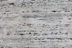 Textura de uma pedra branca Fotografia de Stock