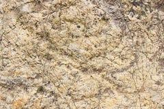 A textura de uma pedra lisa Fotografia de Stock Royalty Free