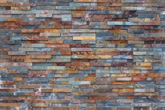 Textura de uma pedra oxidada molhada Foto de Stock Royalty Free