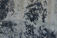Textura de uma superfície concreta velha Fotos de Stock