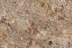 Textura de uma superfície concreta velha Fotografia de Stock Royalty Free