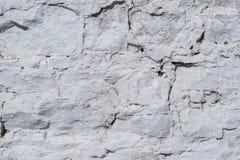 Textura de uma superfície concreta velha Foto de Stock Royalty Free