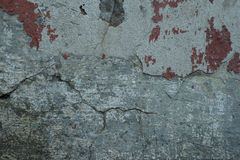 Textura de uma superfície concreta velha Foto de Stock