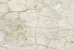 Textura de uma superfície de pedra clara coberta com as quebras, fundo foto de stock royalty free