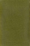 Textura de uma tela verde Fotos de Stock Royalty Free