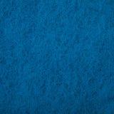 Textura de uma toalha de rosto azul Imagem de Stock